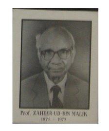 Prof. Zaheeruddin Malik