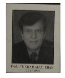 Prof. Iftikhar Alam Khan