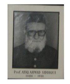Prof. Ateeq Ahmad Siddiqi