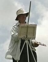 Phil the Forecaster  -  Plein Air