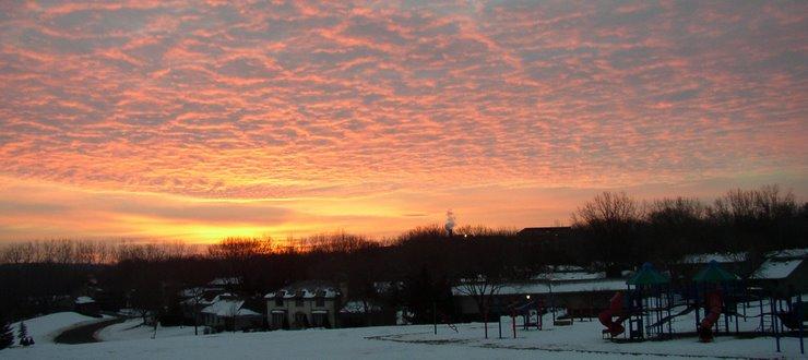 Sunrise at Creek Valley