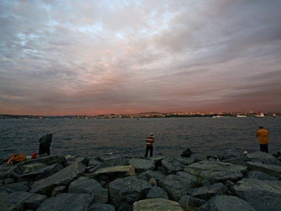Atardecer en el Marmara