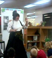 A Storyteller Visits in School
