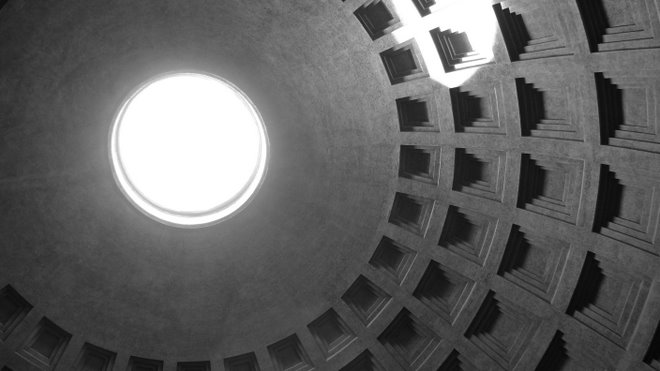 the pantheon's perfect oculus