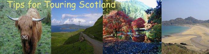 tips for touring scotland