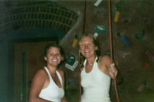 Where it all began....the University of Nebraska climbing wall
