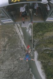 134 Meters...straight down!