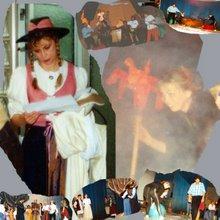1999 Urenkelin während der Faust-Theaterproben