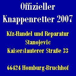 Offizieller Knappenretter 2007