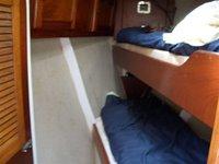 Yacht Keturah bow cabin