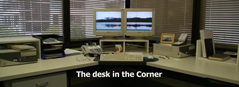 The Desk in the Corner