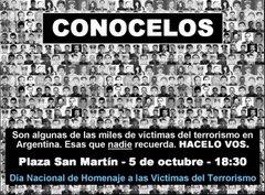 ARGENTINOS MUERTOS POR EL TERRORISMO