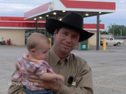 Terry and grandson Deegan