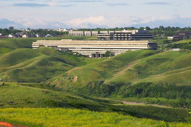 Bibby's Campus in the Coulees of Southern Alberta