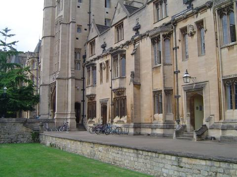 "627 years old ""New College"" Oxford"
