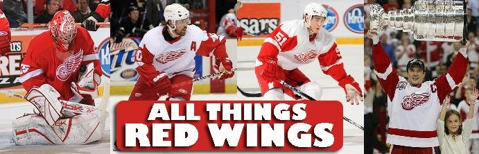 All Things Red Wings...