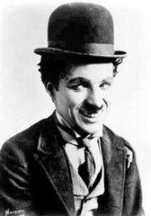 """Chaplin como """"O Vagabundo"""""""