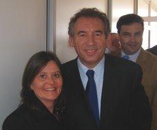 Caroline Vély avec François BAYROU