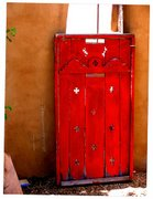 Red Door off Hinges