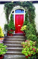 Steps to a Red Door