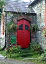 Red Door Stone House