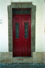 Red Door in Portugal