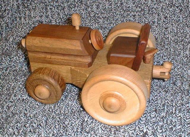 tracteur monté