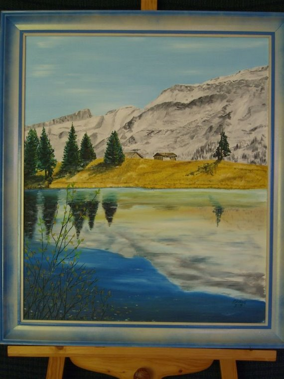 Lac Reteaud en miroir