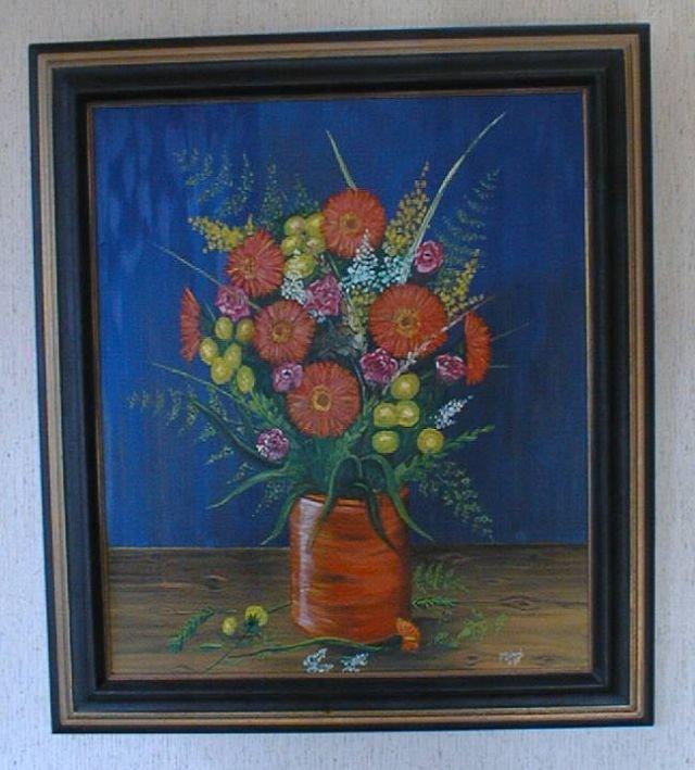 Vase de fleur, composition