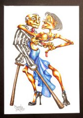 Marcela Troncoso:  Humor grafico de tango