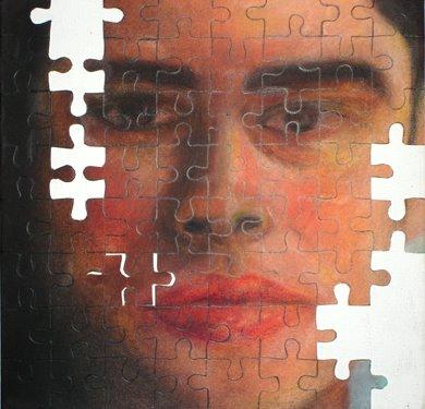 Da série: Auto-retratos no supermercado da História da Arte - 2005