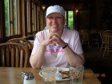 Deb at Giant City Lodge