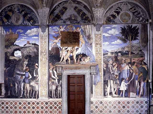 Idle speculations camera degli sposi palazzo ducale mantua for Camera degli sposi palazzo ducale