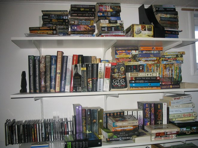 The small library of.. me.