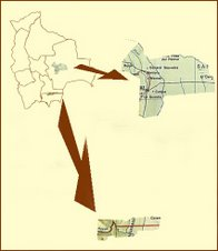 La localización del cultivo de la soya en Bolivia está concentrada en el departamento de Santa Cruz