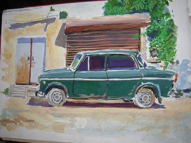 voiture a Jaipur