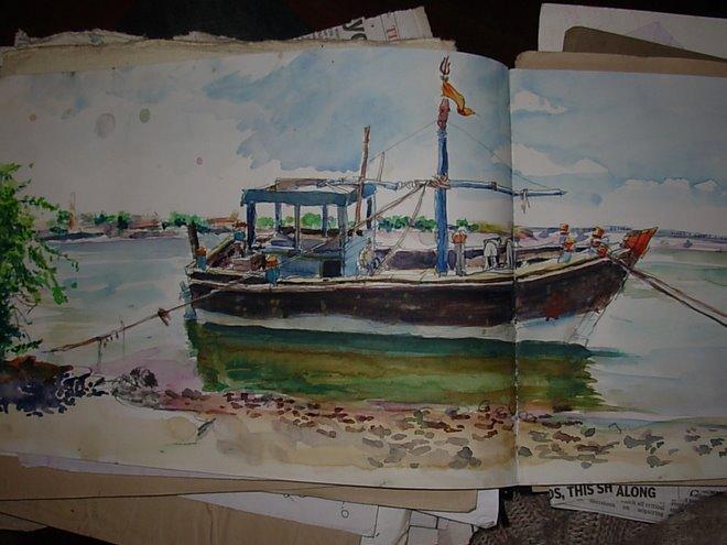 bateau de shiva gogla gujarat