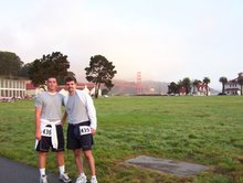5K in San Fran - Jamie and I