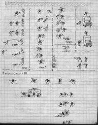 primeros dibujos en Bogotá