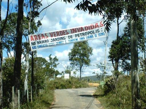 Áreas verdes PÚBLICAS INVADIDAS POR PROPRIETÁRIOS DE CHÁCARAS