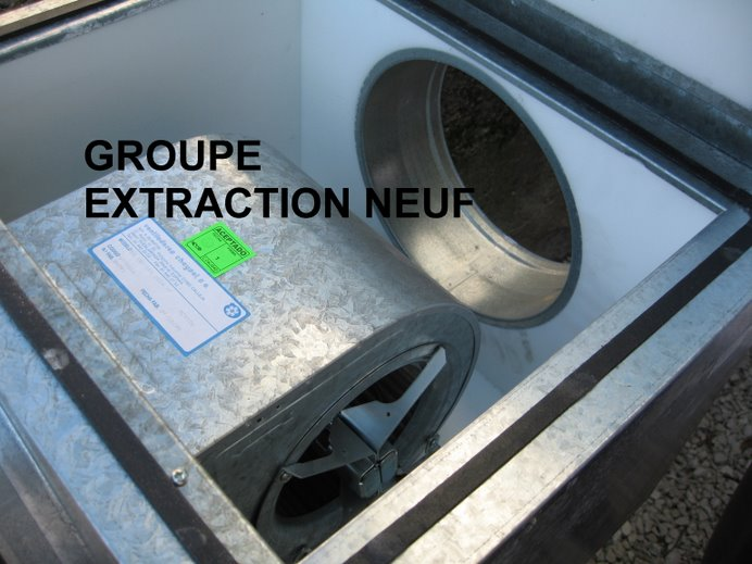 MOTEUR EXTRACTION AIR NEUF