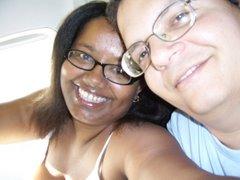 Eu e Marido, meu grande companheiro de viagem...