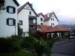 Hotel de montaña, de la oferta del viaje de la semana completa