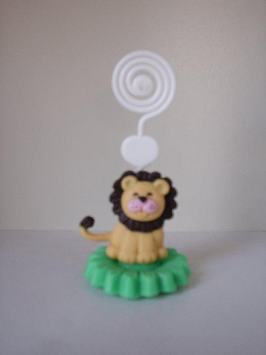porta recado de leão