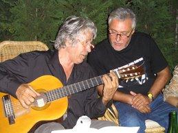 Con Paco Ibáñez