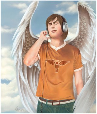 The Angel And His Music...