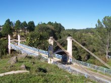 Puente colgante Alpa Corral, Cordoba, Argentina