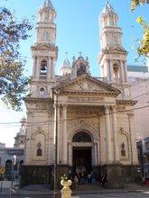 Catedral Nuestra Señora del Rosario. Rosario, Santa Fe, Argentina