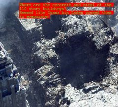 9-11 mysterious craters