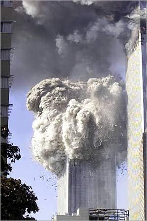 9-11 explosion